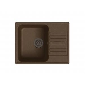 Кварцевая мойка LEX GARDA 620 CHOCOLATE