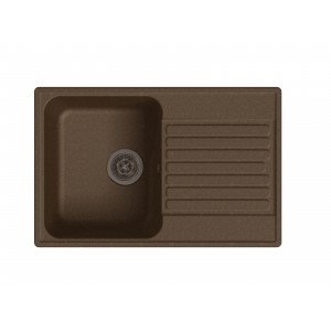 Кварцевая мойка LEX GENEVA 740 CHOCOLATE