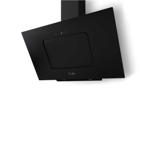 Наклонная кухонная вытяжка LEX Glass 900 Black