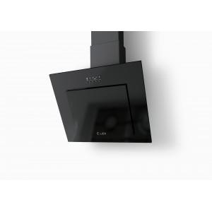 Наклонная кухонная вытяжка LEX Mini 600 Black
