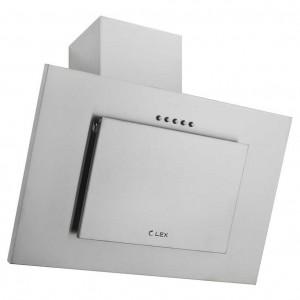 Наклонная кухонная вытяжка LEX Mini S 600 Inox