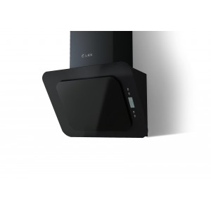 Наклонная кухонная вытяжка LEX Olive 600 Black