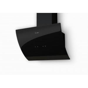 Наклонная кухонная вытяжка LEX Plaza 600 Black