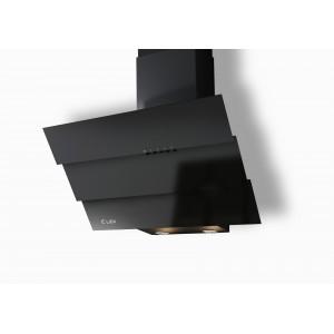 Наклонная кухонная вытяжка LEX Rio 600 Black