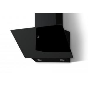Наклонная кухонная вытяжка LEX Touch 600 Black