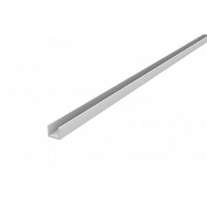 Планка для МЩ торцевая 4мм, хром