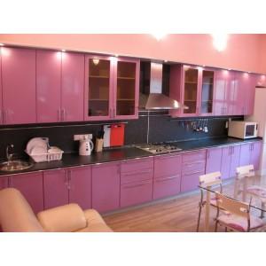 Кухня металлик Сиреневый 5,4 метра
