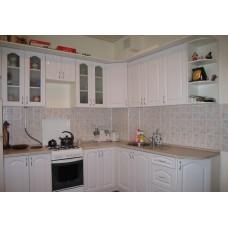 Кухня глянцевая Белая 2,4х2,1 метра