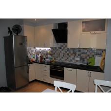 Кухня глянцевая Макиотти 0,6х2,4 метра